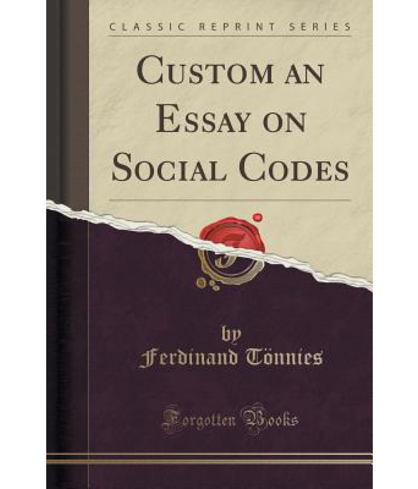 do custom essay on social codes There is no need to wait for ideas to come to you - order custom essays now and get the essay writing you need on-time essay delivery is guaranteed please, login login: password: remember me country code - area code - phone number select phone type.