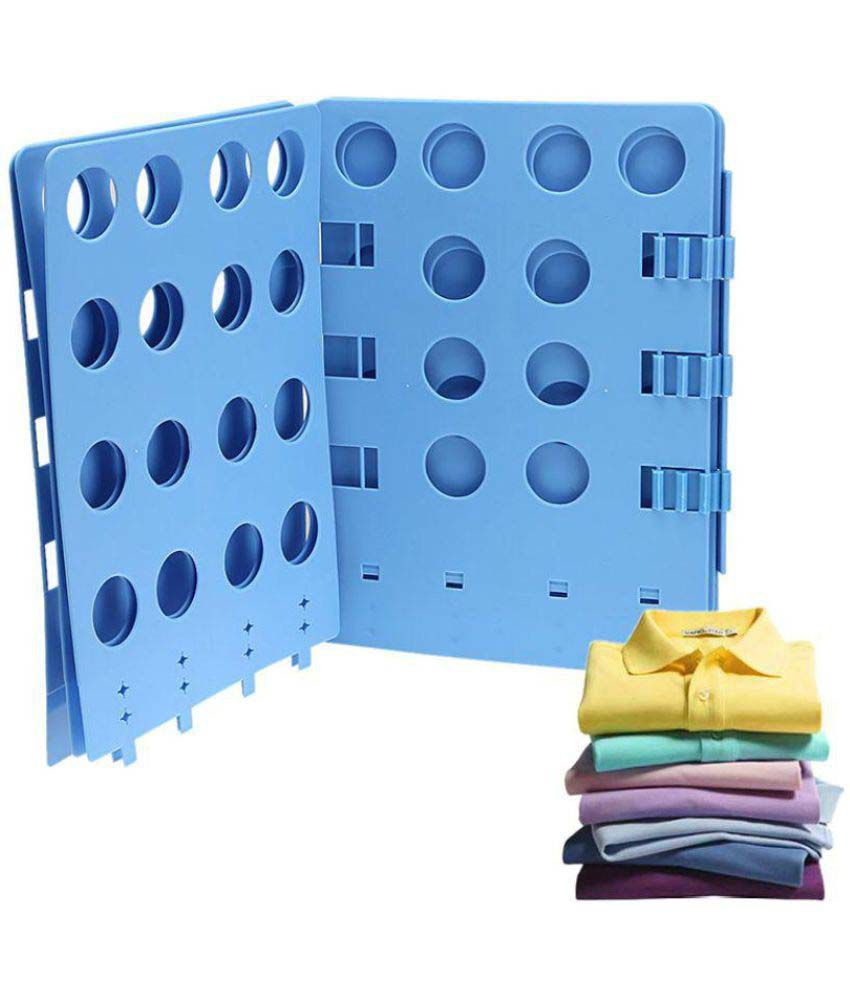 Kawachi New Adjustable Laundry Organizer folding board clothes T-Shirt folder
