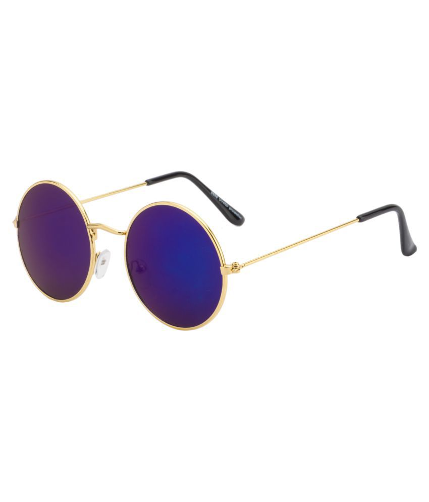 Ochila Blue Round Sunglasses ( R1121 )