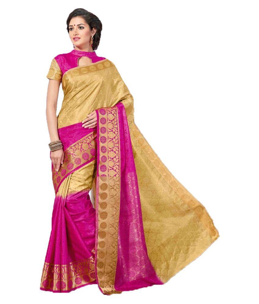 Sudarshan Silk Multicoloured Raw Silk Saree
