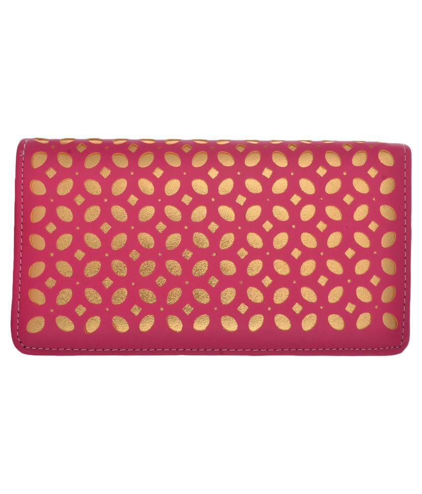 Cuddle Pink Fabric Box Clutch