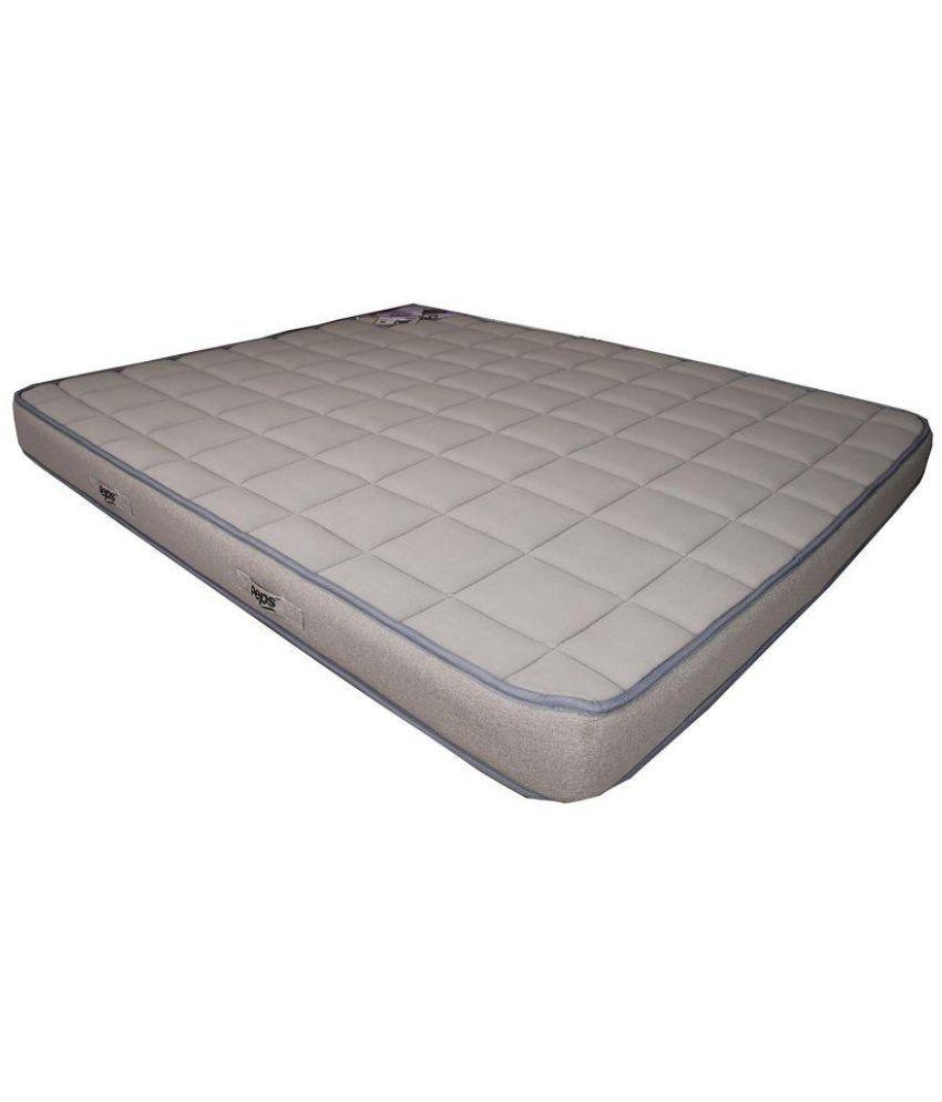 peps spine guard coir memory foam 5 orthopedic mattress buy peps