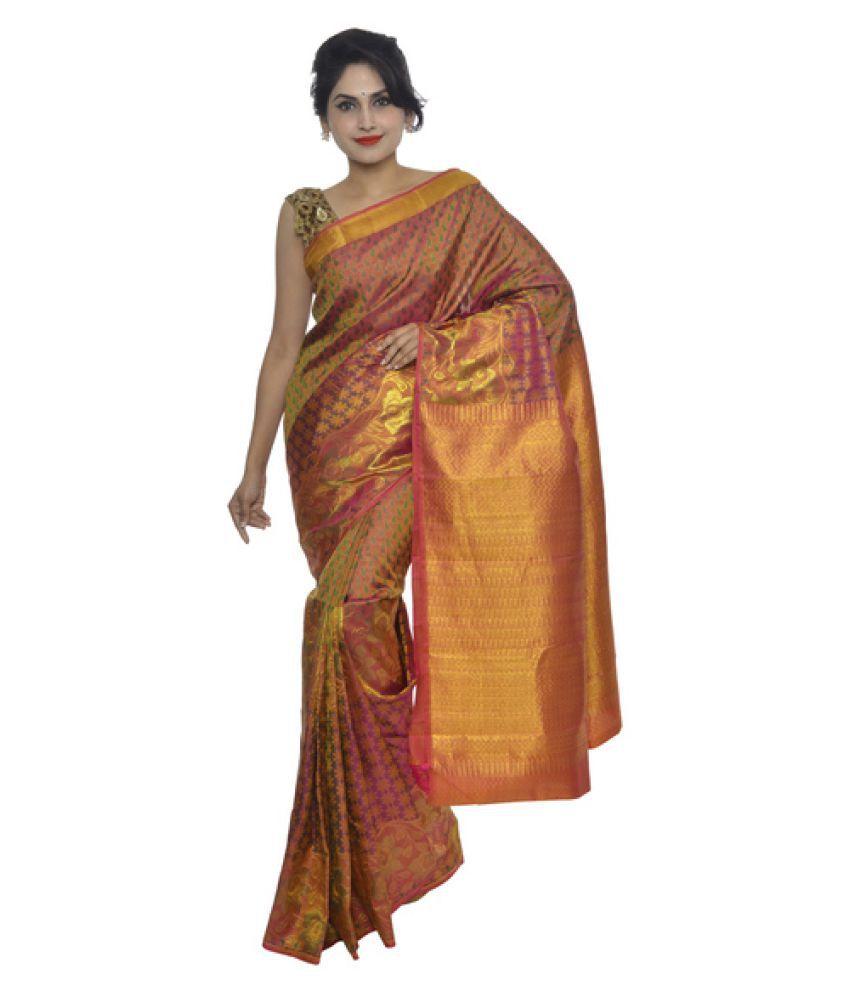 408b30bdae9f7d Vallalar Silks Brown and Maroon Kanchipuram Saree - Buy Vallalar Silks  Brown and Maroon Kanchipuram Saree Online at Low Price - Snapdeal.com
