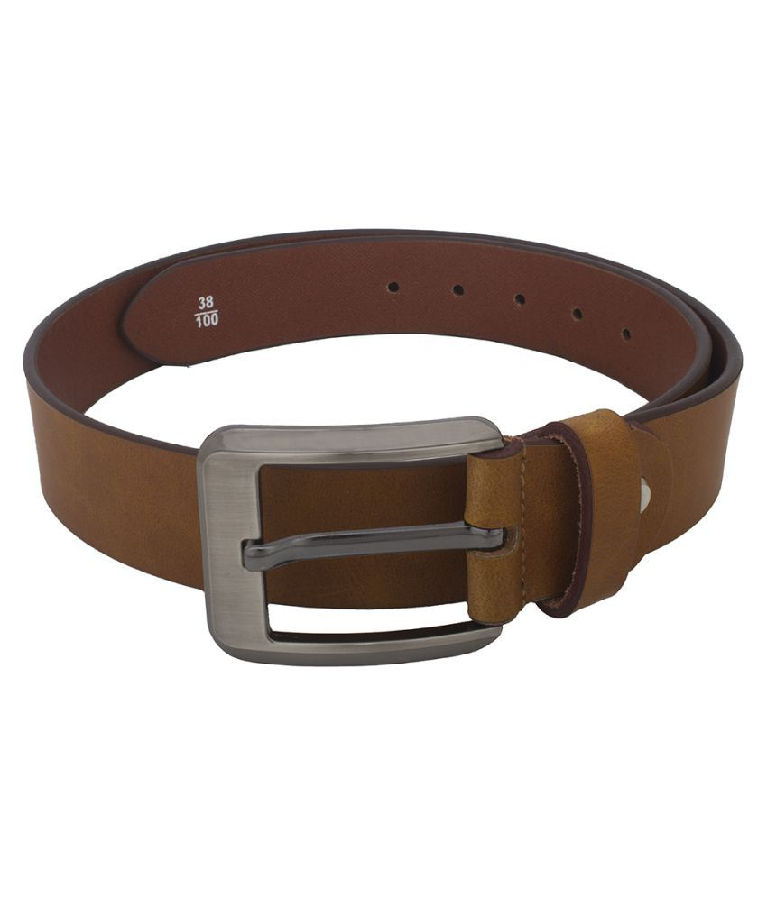 Chisel Brown Leather Casual Belts