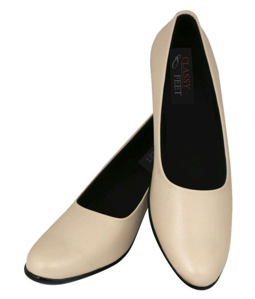 Classy Feet Beige Formal Shoes shop online exclusive cheap price 2qH36LfO