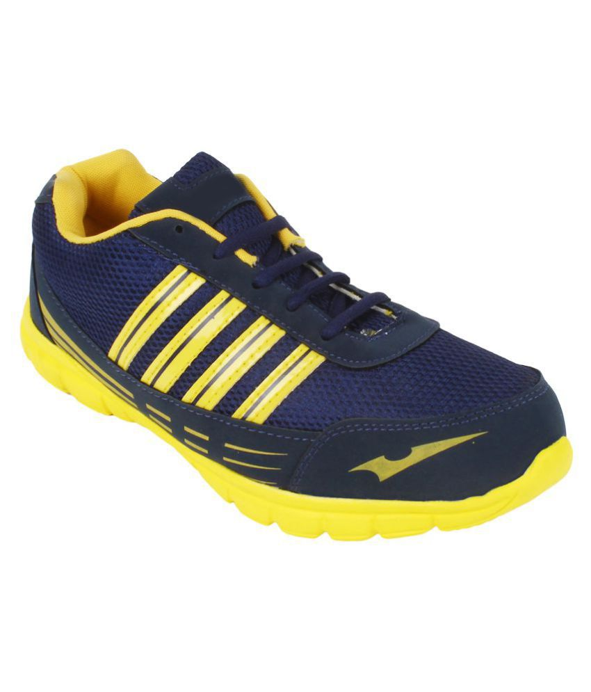 TrendyFurnish Yellow Running Shoes