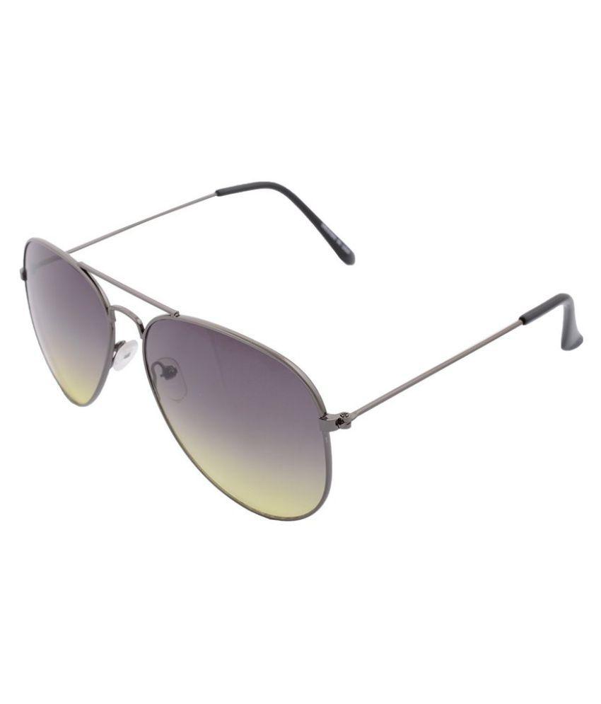 Xlnc Black Aviator Sunglasses ( SFBLKLMGR01 )