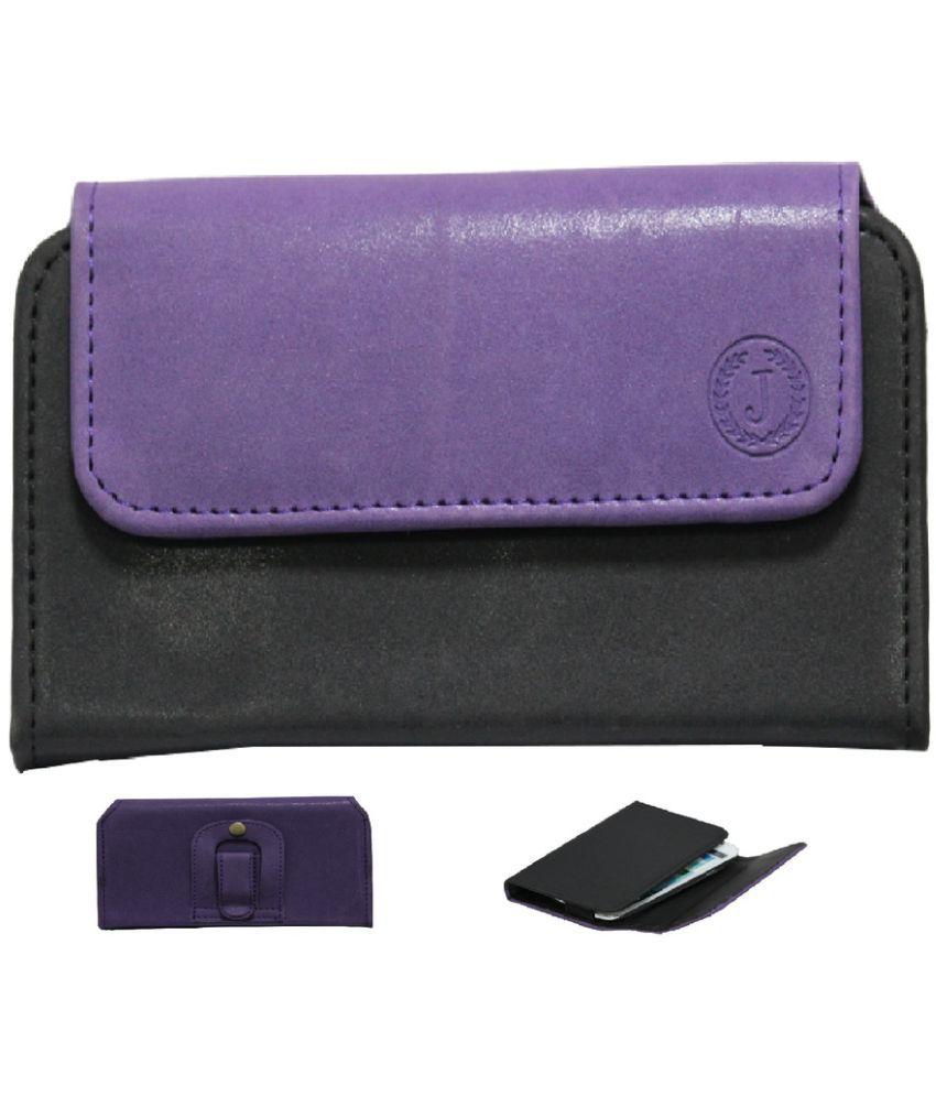 Lenovo Vibe C Holster Cover by Jojo - Purple