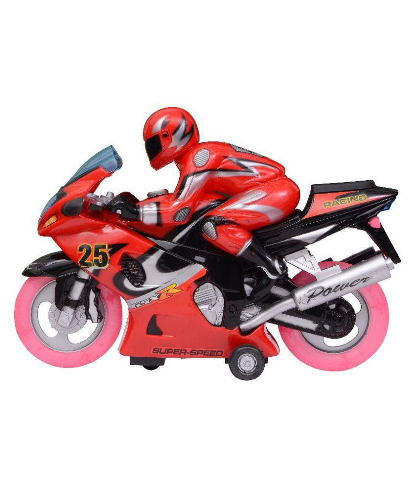 Meratoy Red Remote Control Toy Bike - Buy Meratoy Red ...