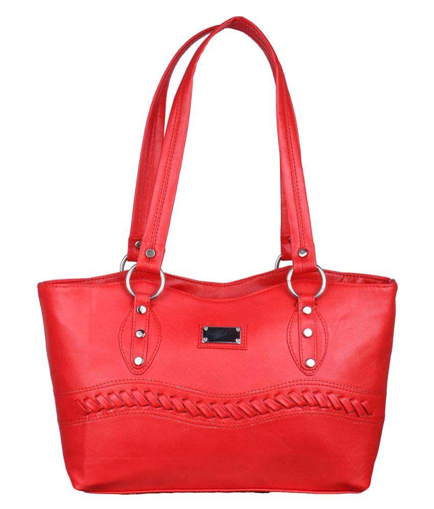 482ea914b4b Speed X Fashion Red P.U. Shoulder Bag