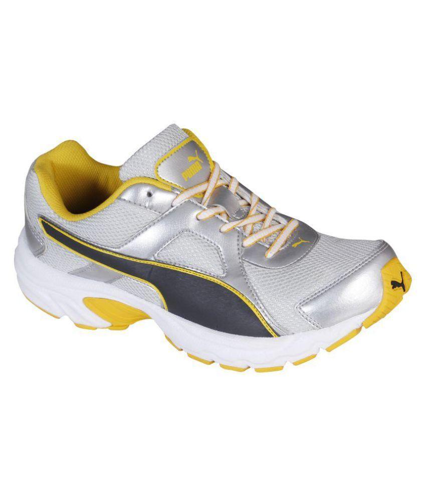 Puma Aiko IDP Silver Running Shoes ...