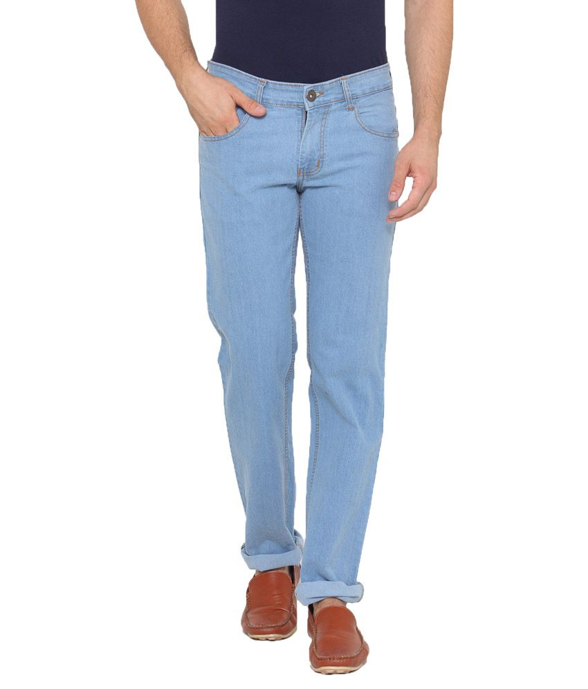 US Adventure Light Blue Slim Basic
