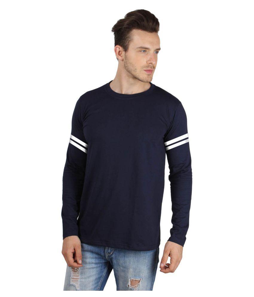 Sayitloud Navy Round T-Shirt