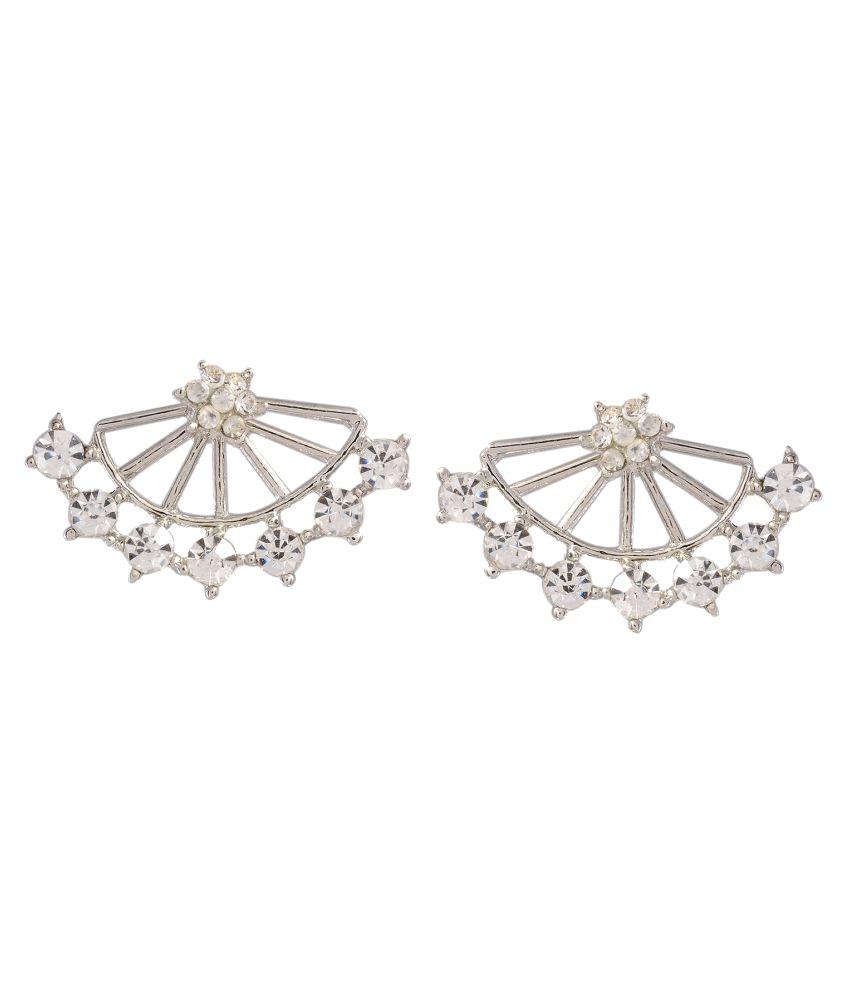 Ark International Silver Ear Cuffs