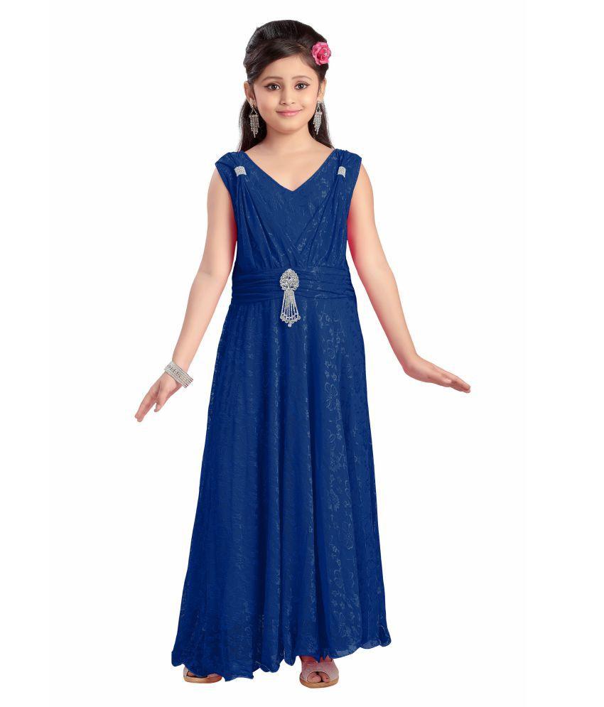 e45b25070d Aarika Girl s Self Design Premium Net Party Wear Dress - Buy Aarika Girl s  Self Design Premium Net Party Wear Dress Online at Low Price - Snapdeal