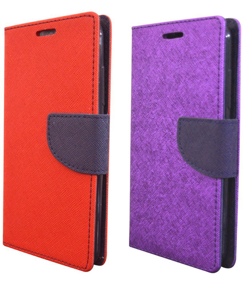Apple iphone 6 Flip Cover by coverage - Multi