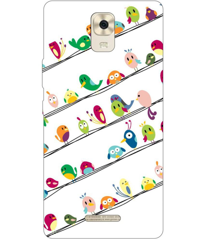 Gionee P7 Max Printed Cover By Go Hooked