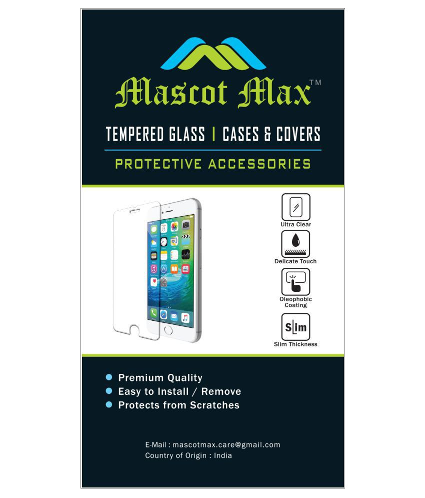 Sony Xperia XA Ultra Tempered Glass Screen Guard By Mascot Max