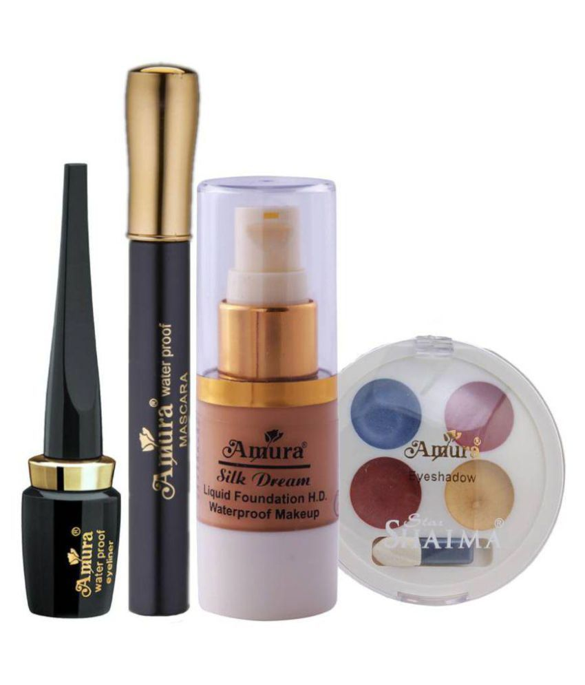Amura Colour Cosmetics Eye Makeup Combo Set Of 4 Buy Amura Colour