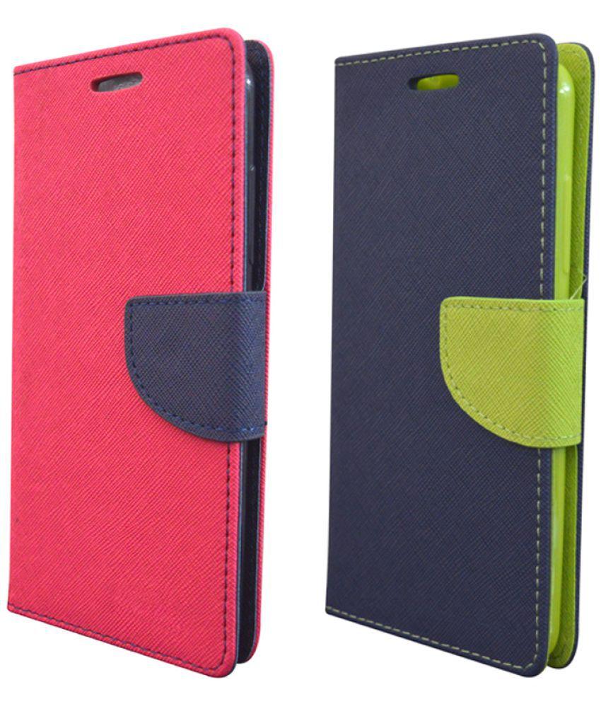 HTC Desire 820 Flip Cover by Rdcase - Multi
