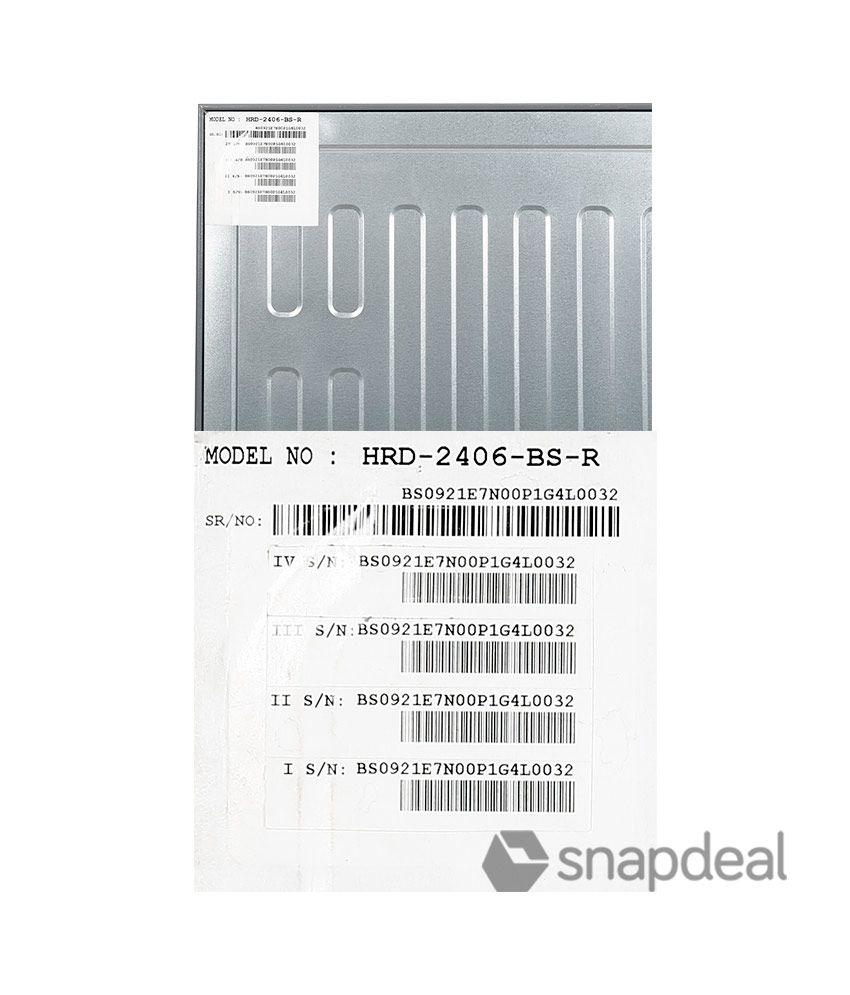 haier 220 ltr 5 star hrd 2406bs r single door refrigerator