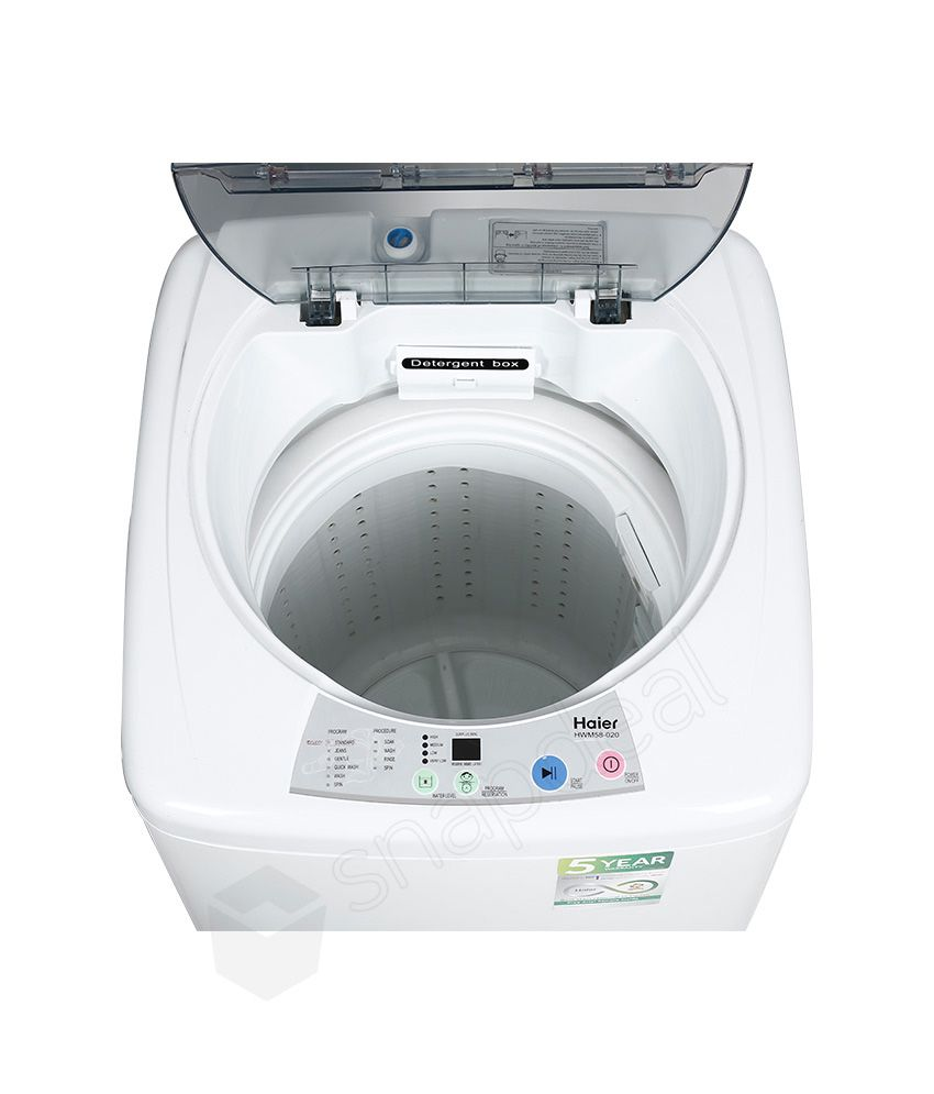 top loading washing machines haier 5 8 kg hwm 58 020 fully automatic top load washing 12943