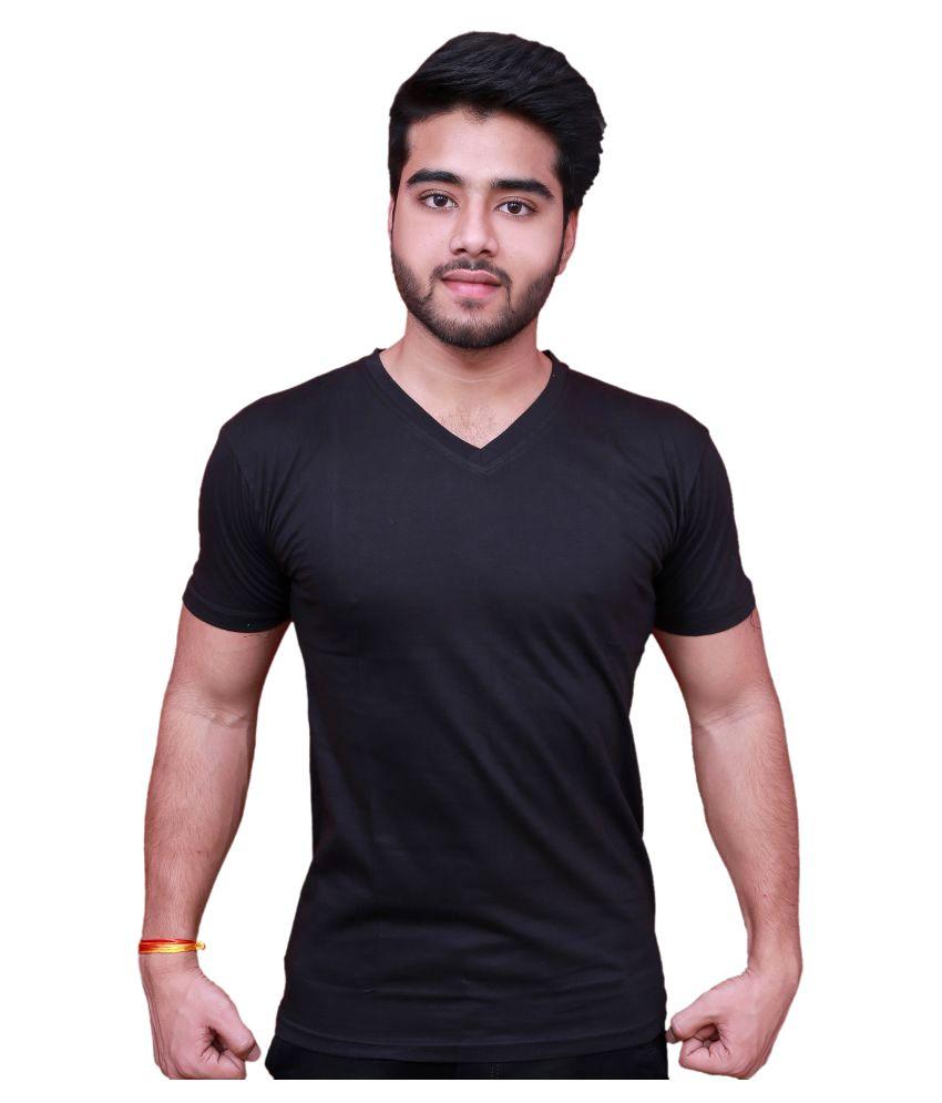 Blu Black V-Neck T-Shirt