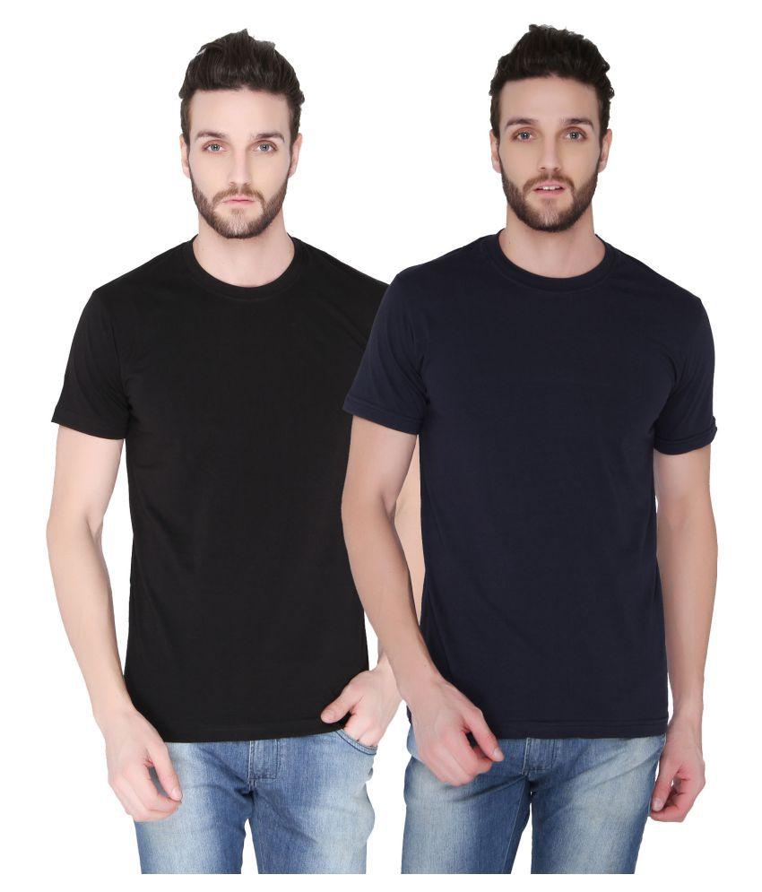 Joke Tees Multi Round T-Shirt Pack of 2