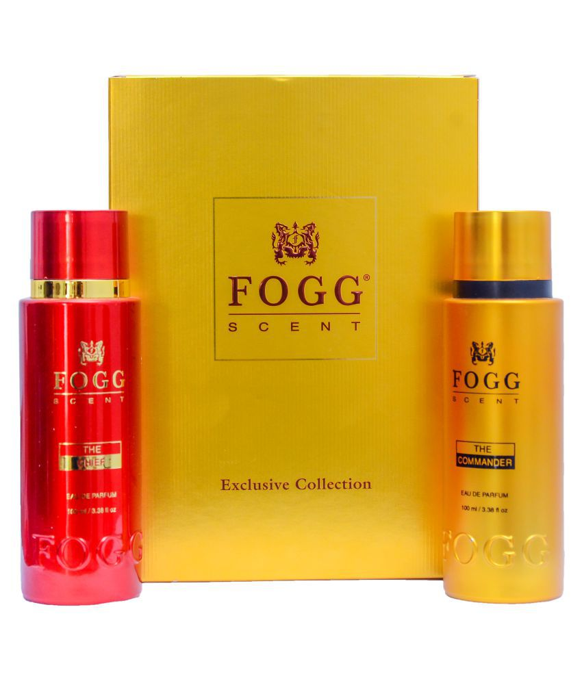 Fogg The Chief And The Commander EDP Set Of Exclusive