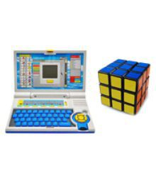 99dotcom Combo English Learner Laptop With Magic Cube
