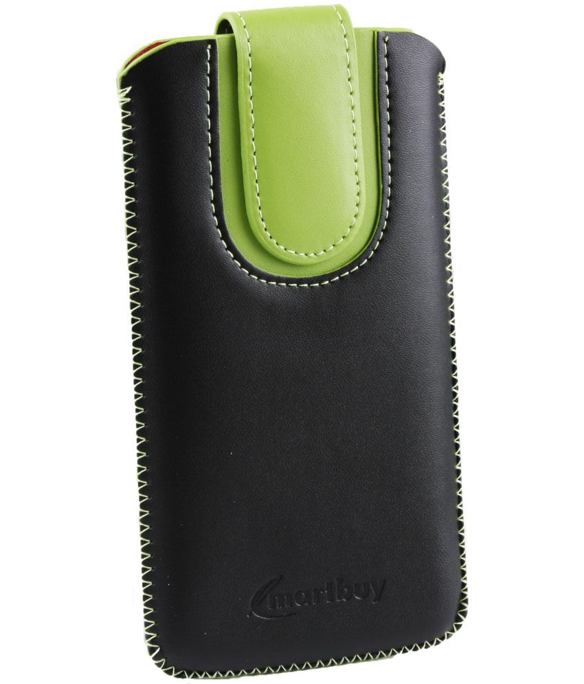 Alcatel One Touch Flash Plus Flip Cover by Emartbuy - Multi