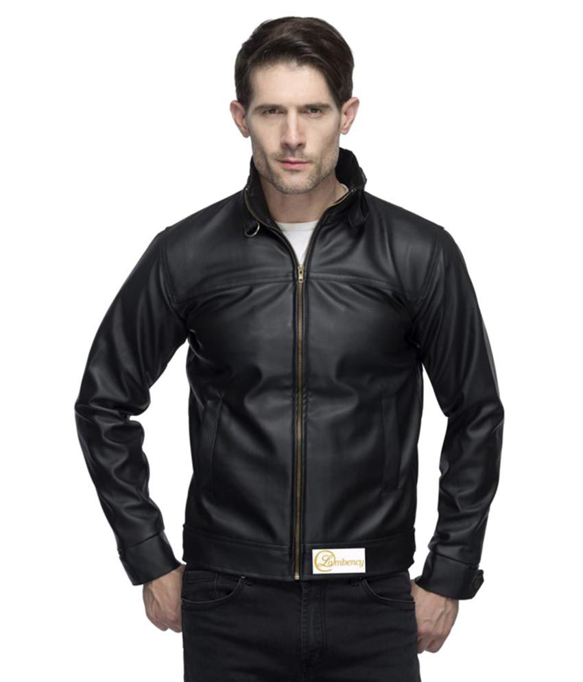 lambency black biker jacket buy lambency black biker jacket online