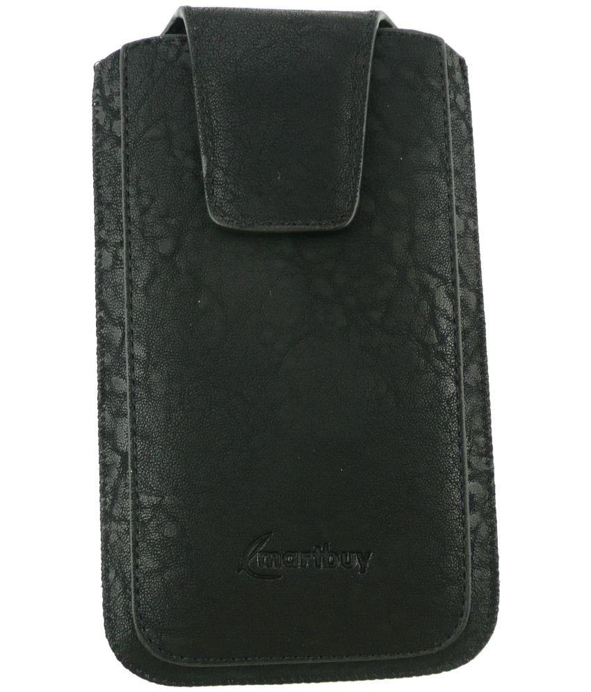 new product 686fd c9eb7 Obi worldphone sf1 Flip Cover by Emartbuy - Black