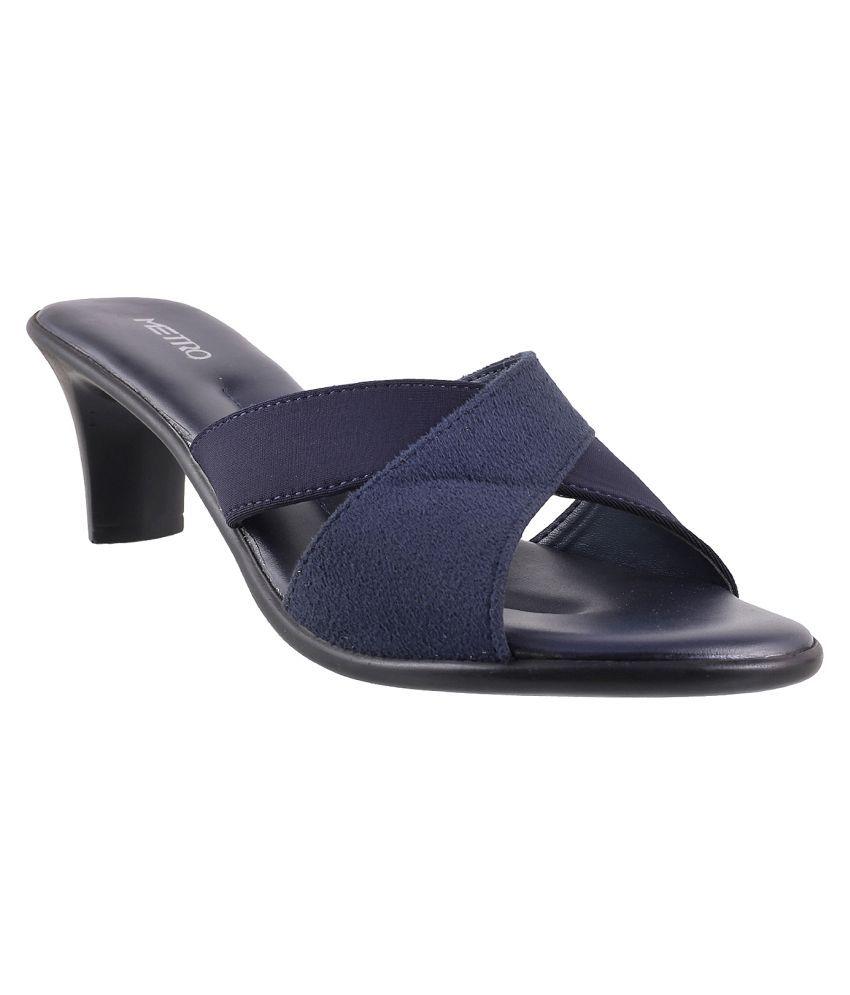 METRO BLUE Heels