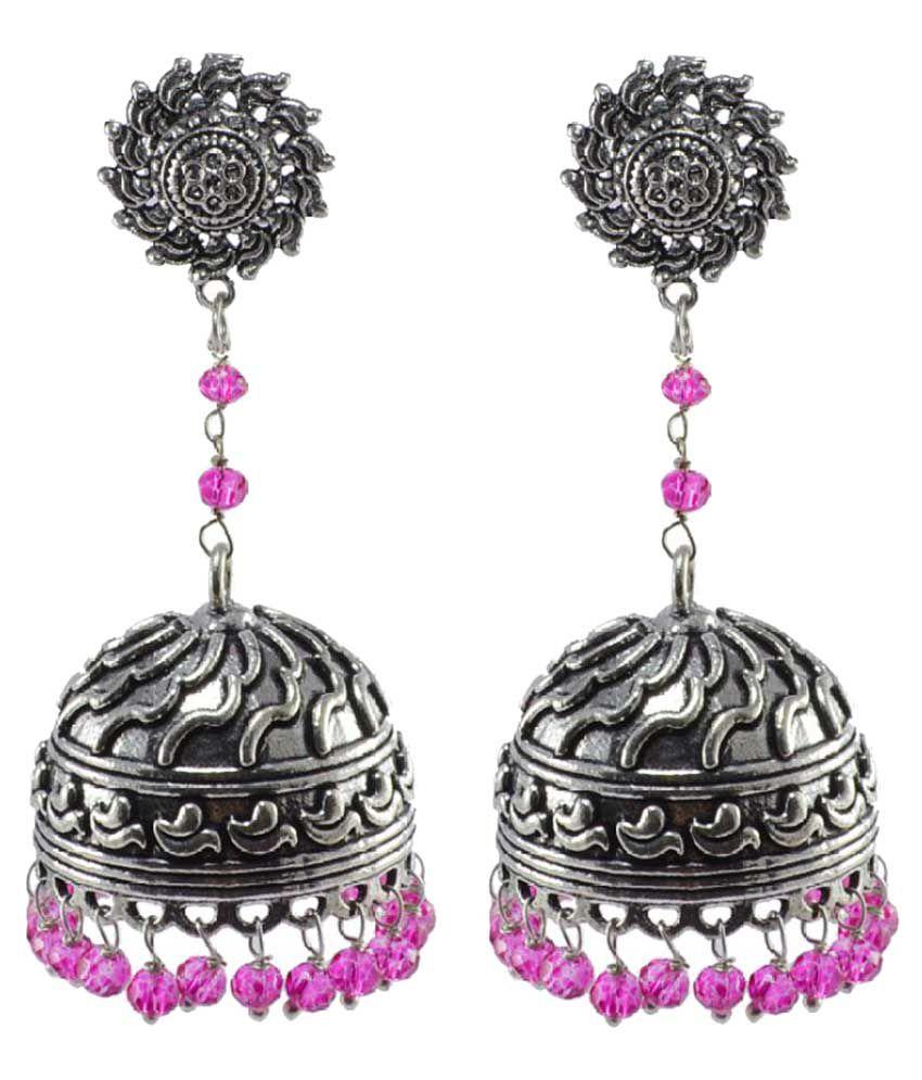 Silvesto India Silver Jhumkis