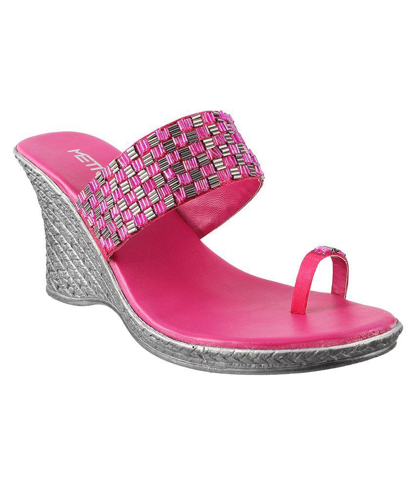 METRO PINK Heels