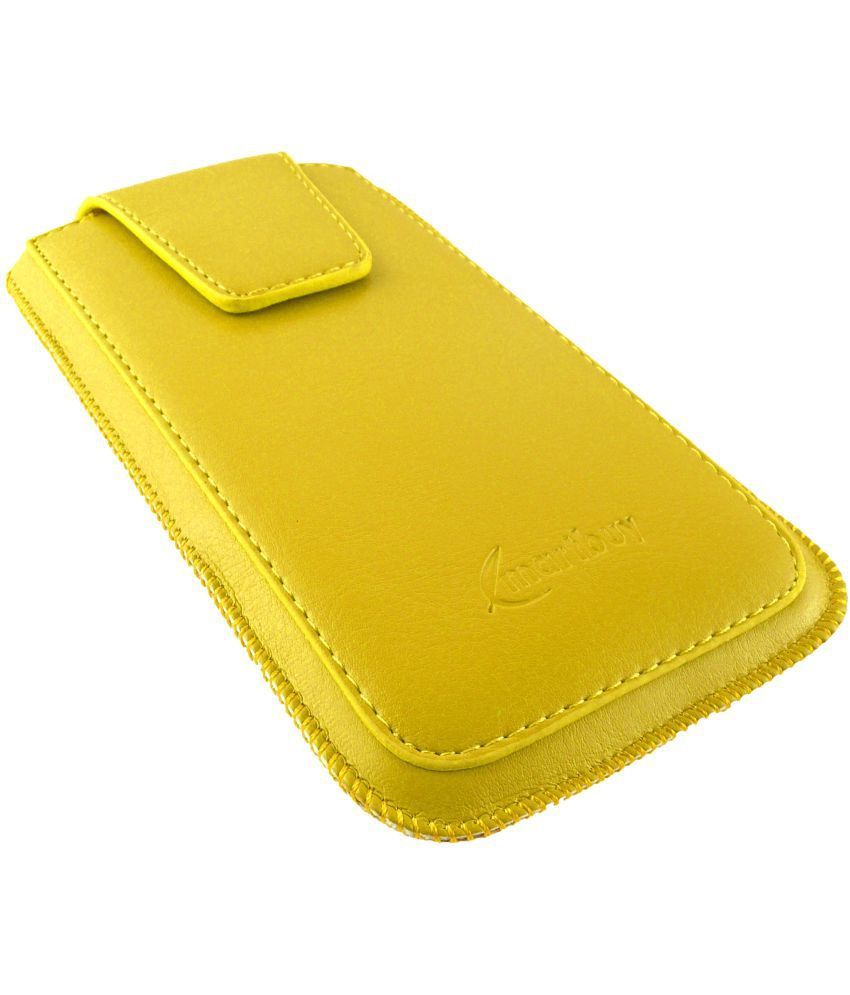Sony Xperia S Flip Cover by Emartbuy - Yellow