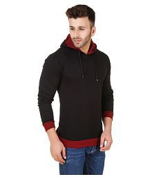 Used, Fabstone Collection Black Hooded T-Shirt for sale  Delivered anywhere in India