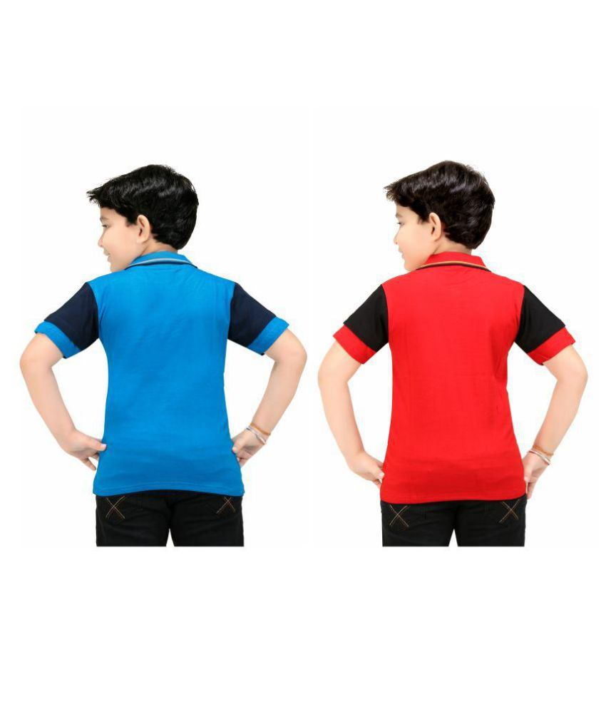 colour kids boys printed polo t shirts pack of 2pc - Pictures To Colour For Boys