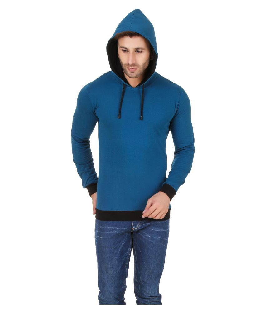 Fabstone Collection Turquoise Hooded T-Shirt