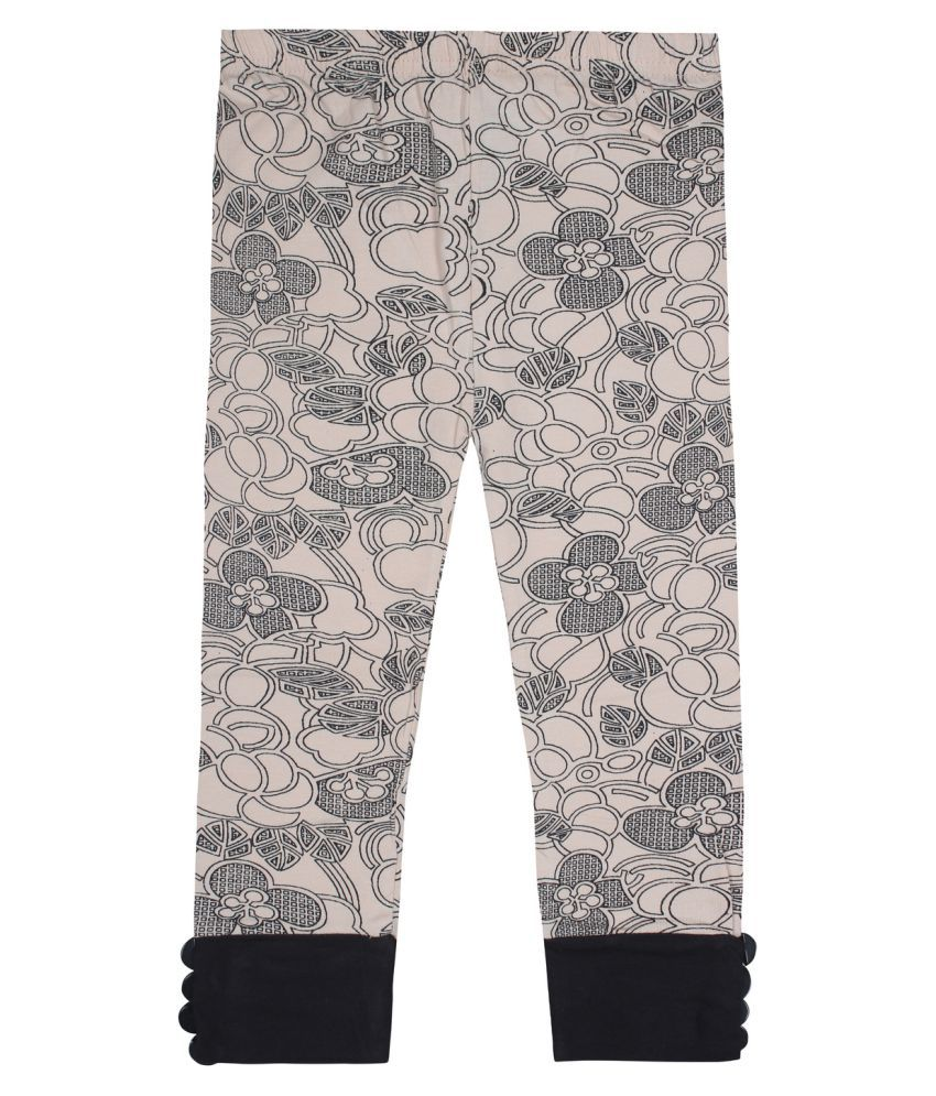 Jazzup Gray Cotton Capris
