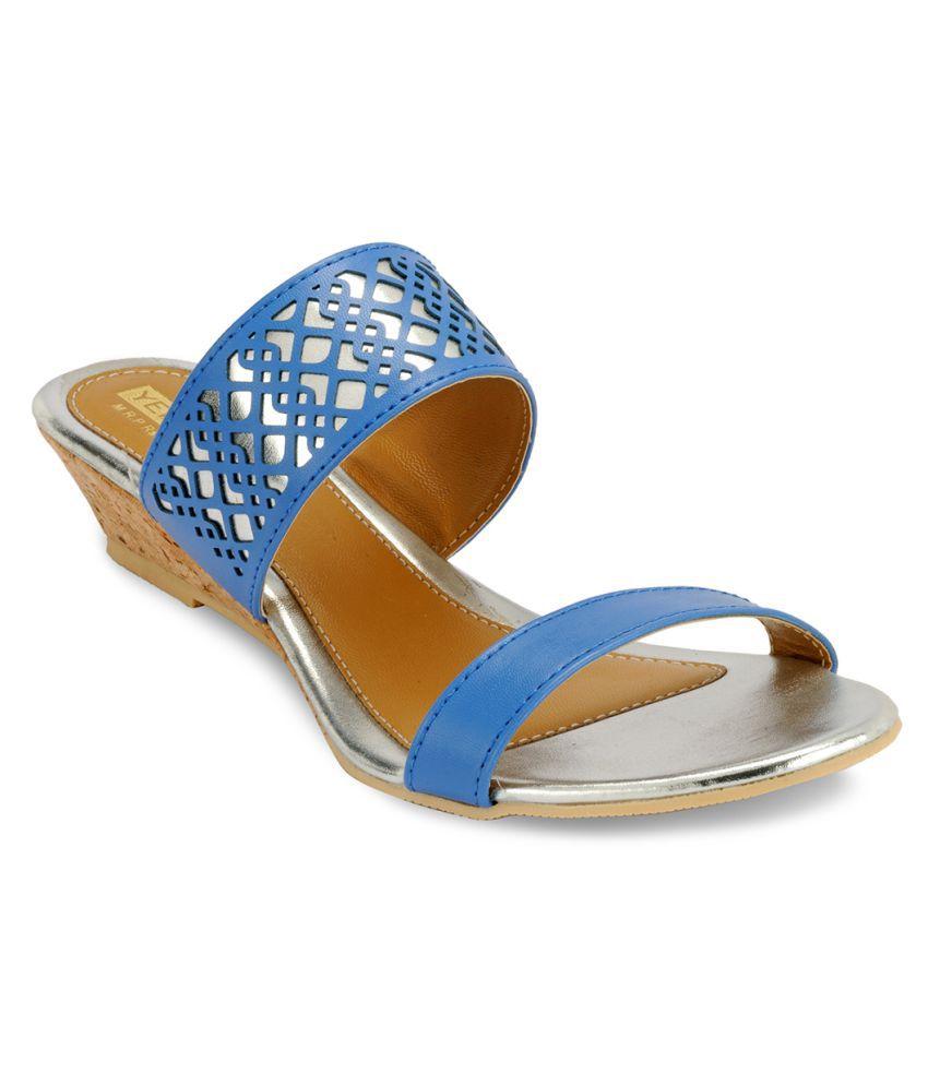 Yepme Blue Flats