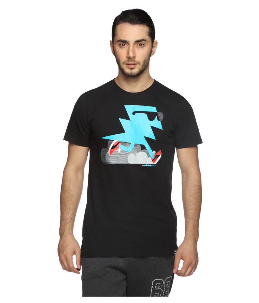 Puma Black Cotton T-Shirt Single Pack
