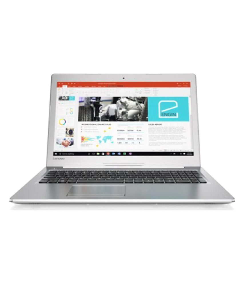 Lenovo Ideapad 80SV00FFIH Notebook Core i7 (7th Generation) 8 GB 39.62cm(15.6) Windows 10 Home 4 GB Silver