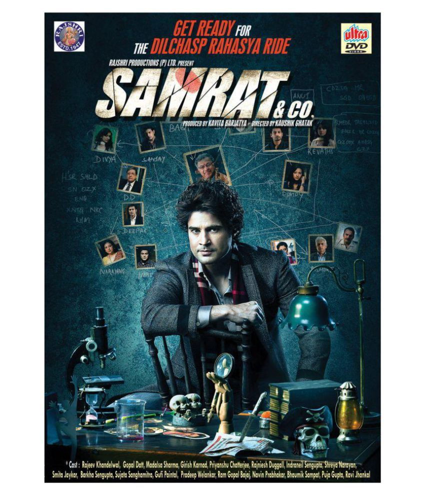 SAMRAT & CO ( DVD )- Hindi