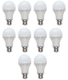 Gi-Shop 15W White LED Bulb - Pack Of 10 - 645811645966