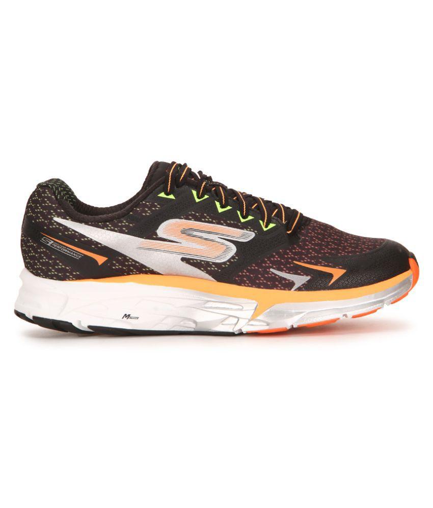53455a6979 Skechers GO RUN FORZA Black Running Shoes - Buy Skechers GO RUN ...
