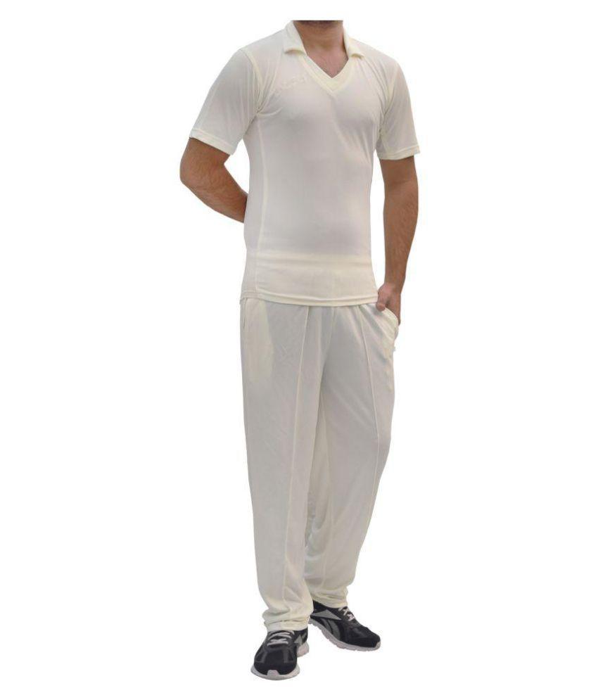 Verified Comfort Honey Comb Mesh Cricket Dress