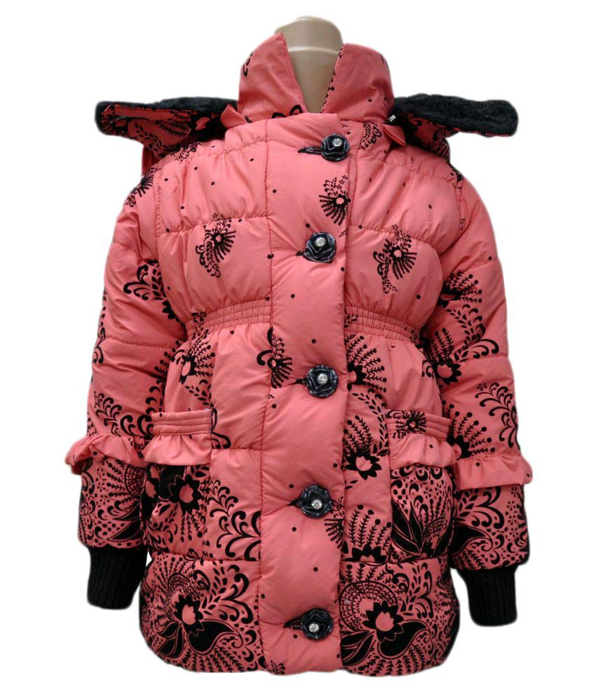 Come In Kids Girl's Printed Jacket