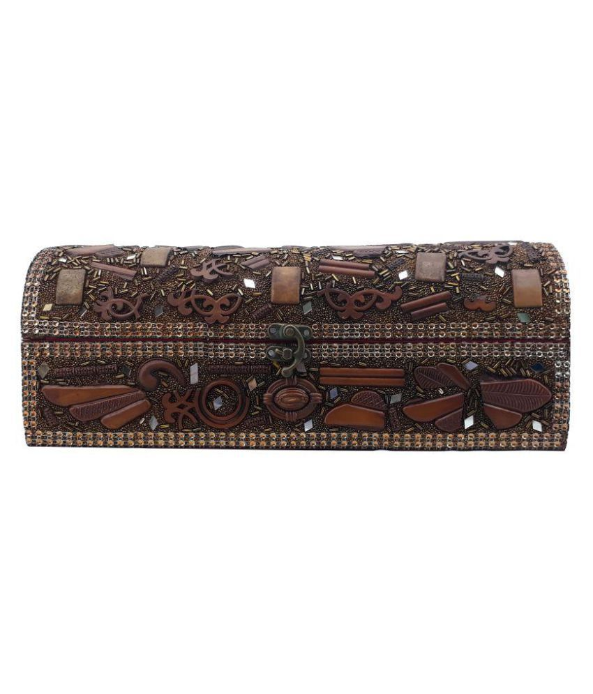 X-Well Brown Jewelry Cases - 1 Pc